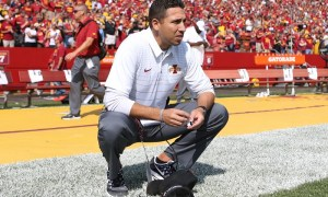 NCAA Football: Iowa at Iowa State