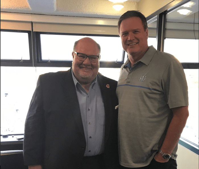 Former Kansas Jayhawks head coach Mark Mangino.