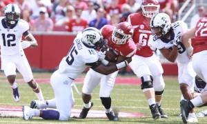 NCAA Football: Texas Christian at Arkansas