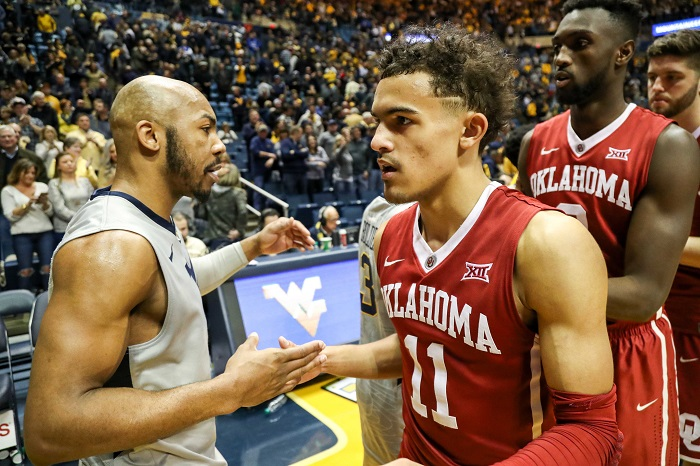 NCAA Basketball: Oklahoma at West Virginia