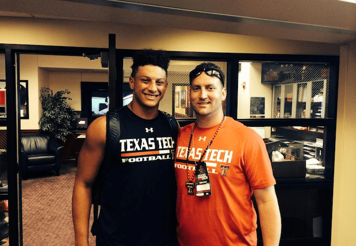 B.J. Symons and Patrick Mahomes