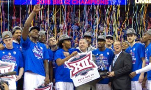 NCAA Basketball: Big 12 Conference Tournament Championship-West Virginia vs Kansas