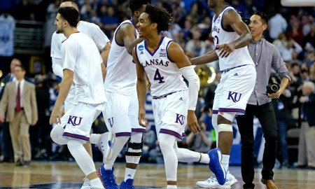 NCAA Basketball: NCAA Tournament-Midwest Regional-Kansas vs Duke