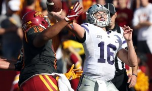 NCAA Football: Kansas State at Iowa State