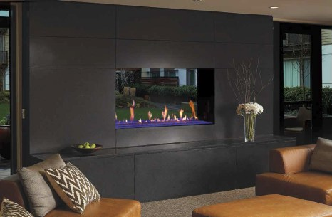 Davinci See-Thru Fireplace