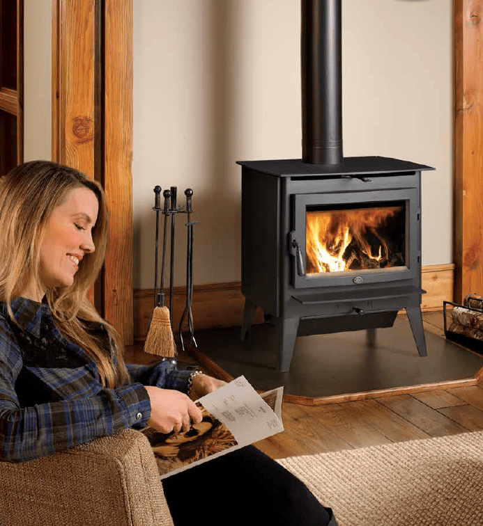 Lopi Evergreen - Wood Stoves Heartland Hearth