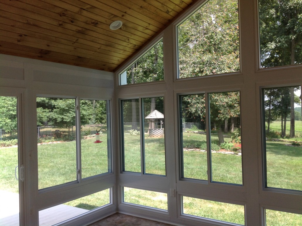 Sunrooms Prefab vs Stick Built Construction Whats