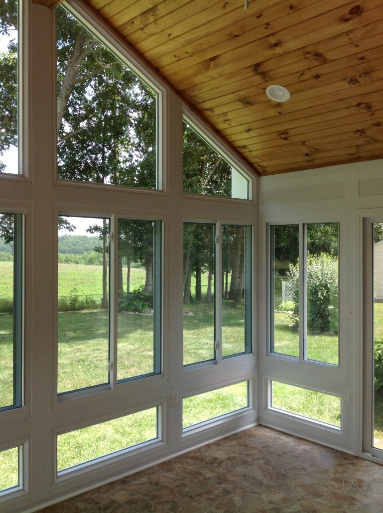 Sunrooms Prefab vs Stick Built Construction Whats The Difference  Heartland Home