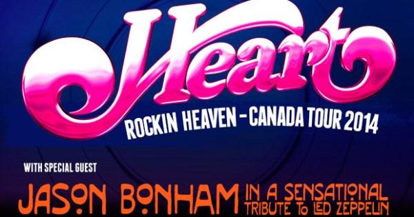 Rocking Heaven - Canada Tour 2014