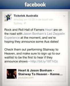 Facebook today Thursday September 12th 2013