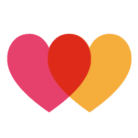 heartmade hearts logo - design for happiness