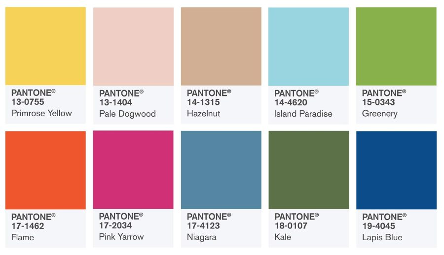 pantone colors for 2017 - get inspiration on how to use them for your brand and products!