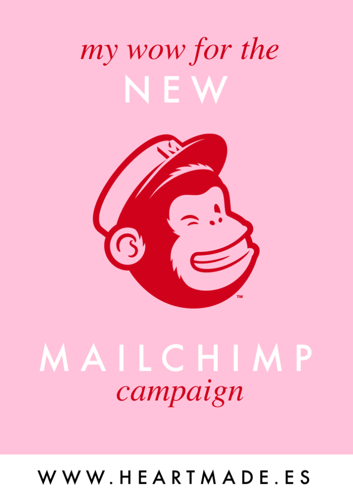 My Wow for the New MailChimp Campaign!