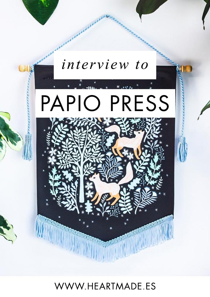 this is the interview I did to Papio Press few years ago. I'm so happy to see how successful they've been with their amazing illustrations
