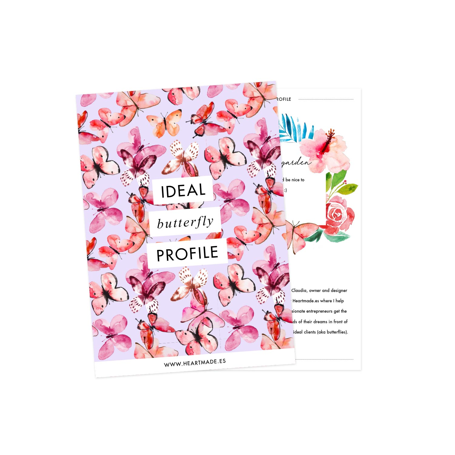 Free workbook download: create your ideal butterfly profile
