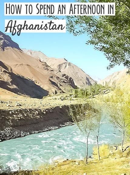There's an afternoon market between the borders of Tajikistan and Afghanistan, and here's how you can visit it while traveling in Tajikistan.