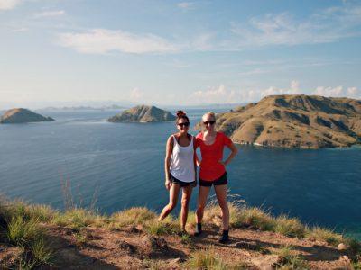 boat trip indonesia komodo island