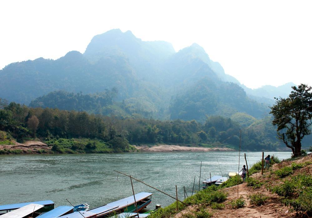 River Nong Khiaw, Laos