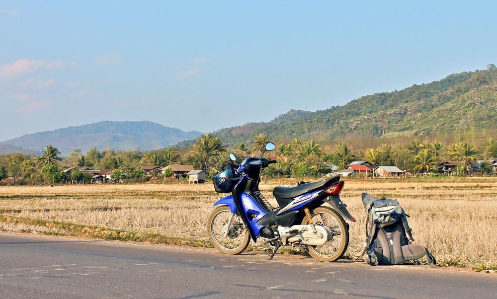 motorbiking through Northern Laos