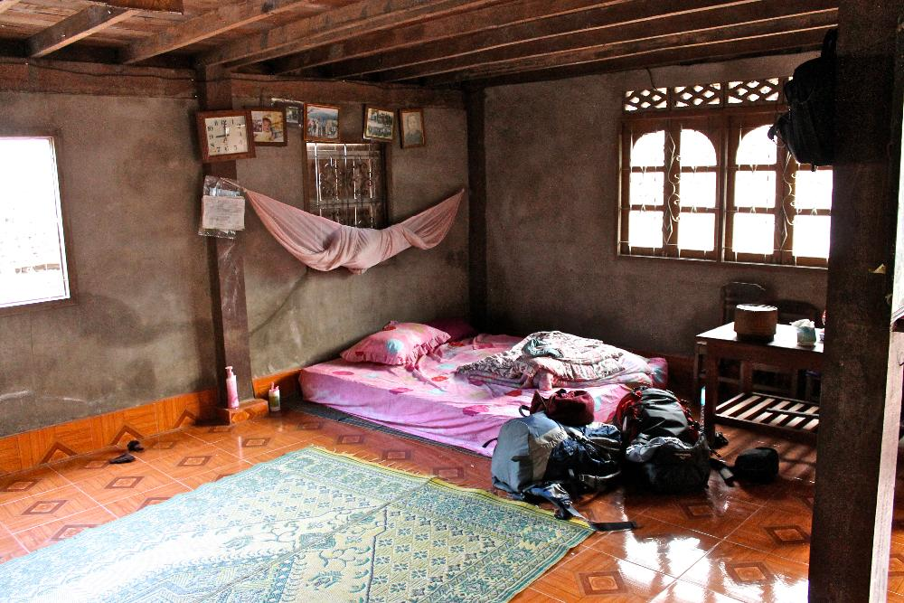 home stay Muang Ngoi, Laos