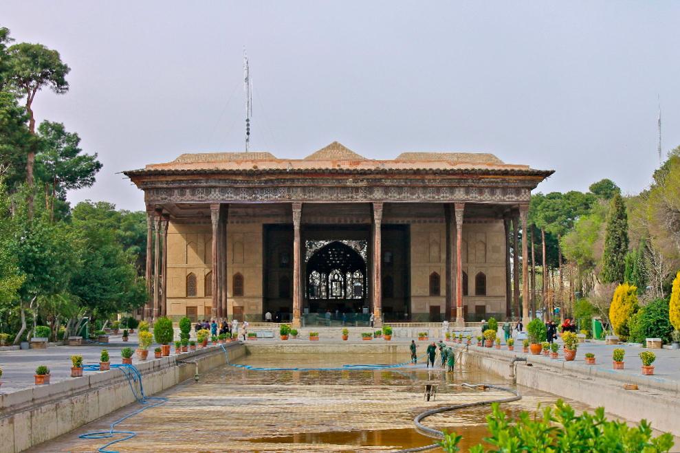 Chehelsotoon Museum Isfahan, Iran