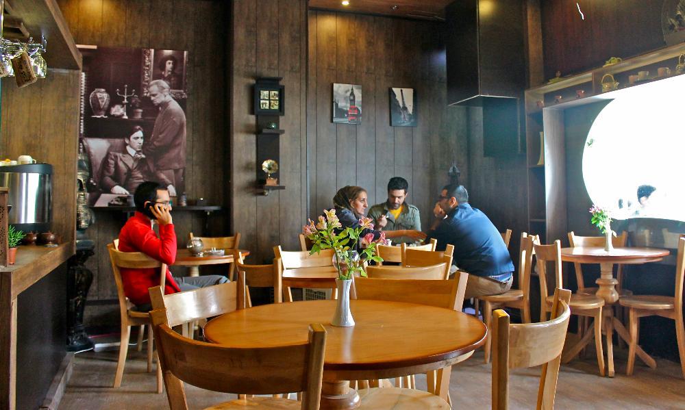 coffee shop Esfahan, Iran