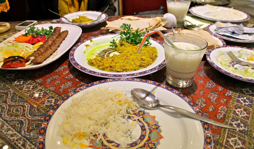 teahouse Isfahan, Iran