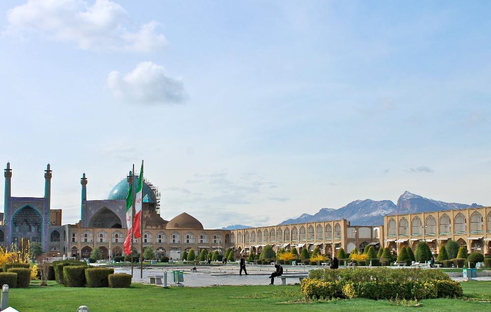 naqsh-e jahan square isfahan, iran