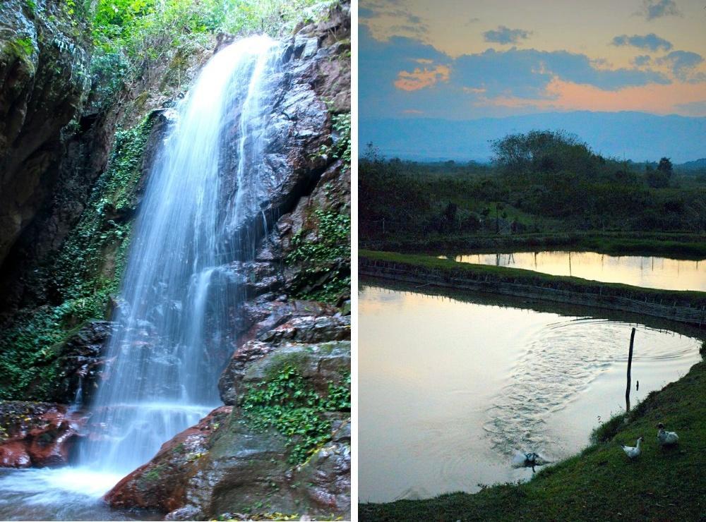 Pha Yeung Waterfall, Laos