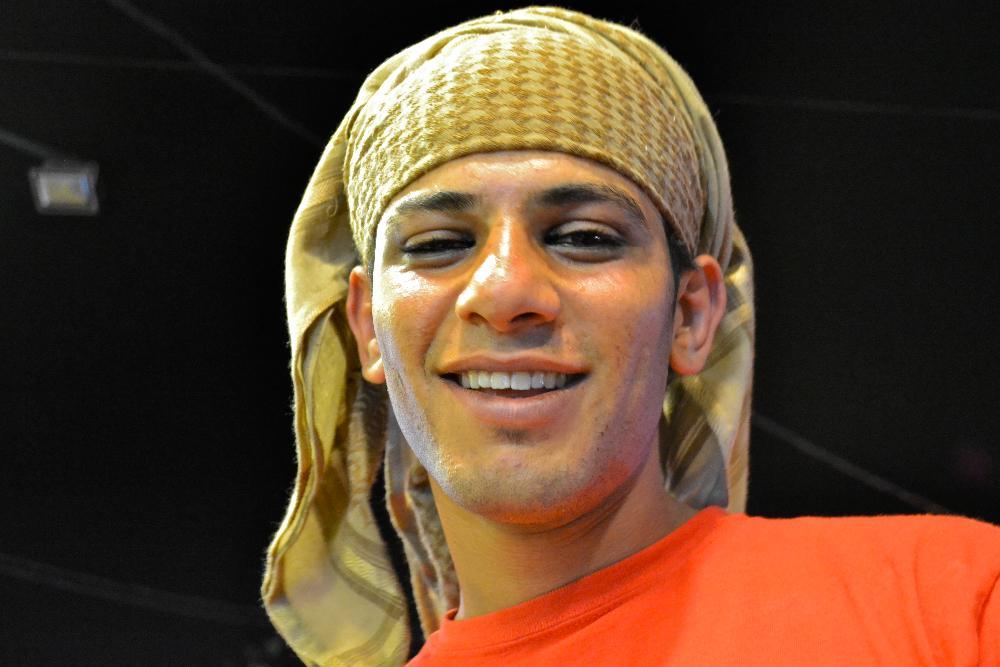 Bedouin man, Petra, Wadi Musa, Jordan