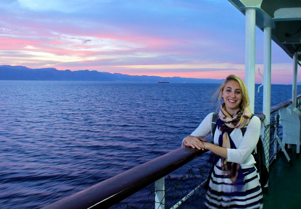 Ferry Nuweiba to Aqaba