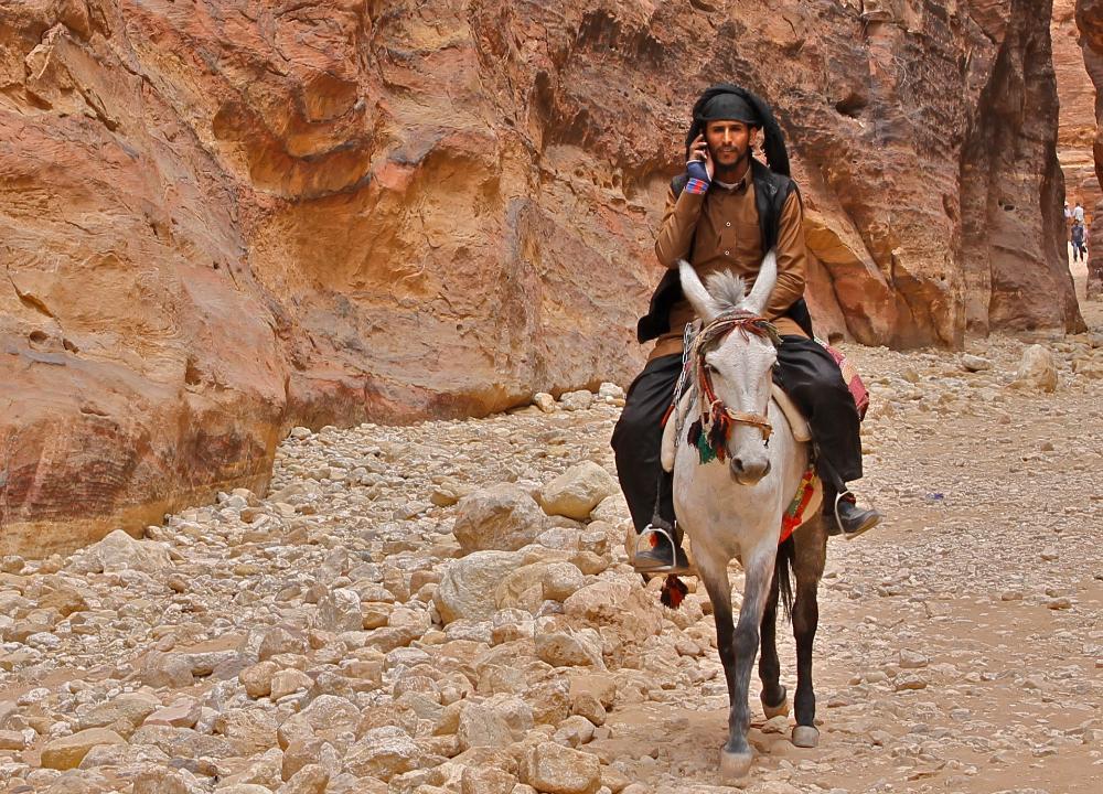 bedouin man, petra jordan