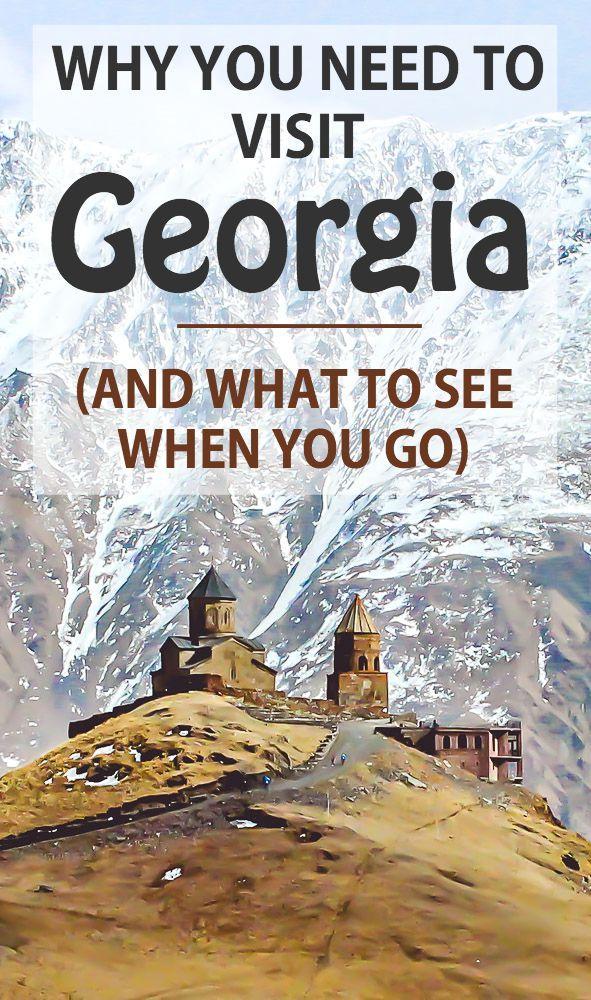 Travel Guide to Georgia - Tbilisi, Mtskheta, Kazbegi, Gergeti