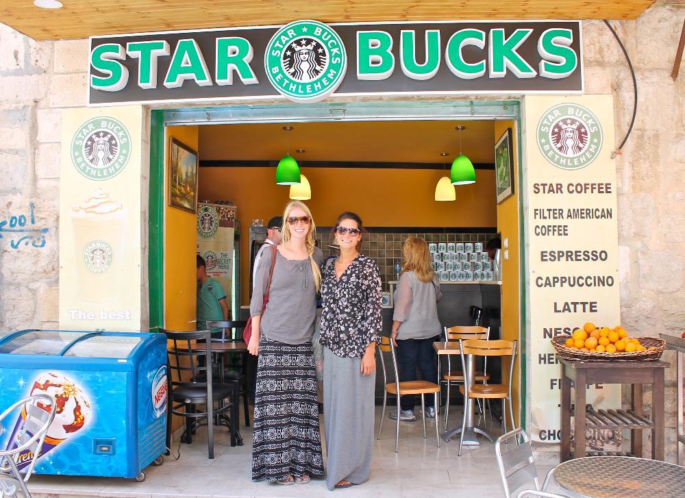 Starbucks, Palestine