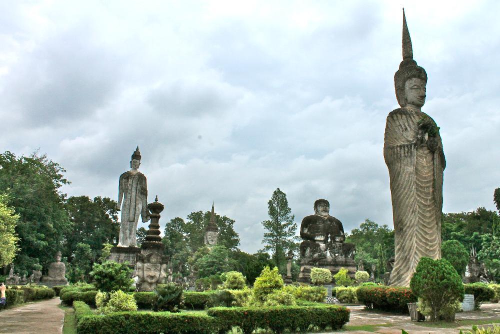 sala keoku statue park nong khai thailand