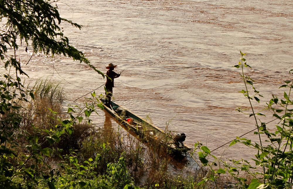 mekong river thailand laos sangkhom nong khai