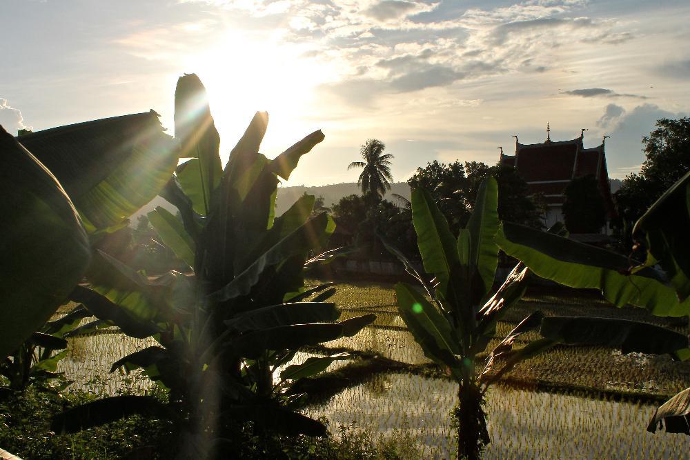 sunset mekong thailand backpacking travel