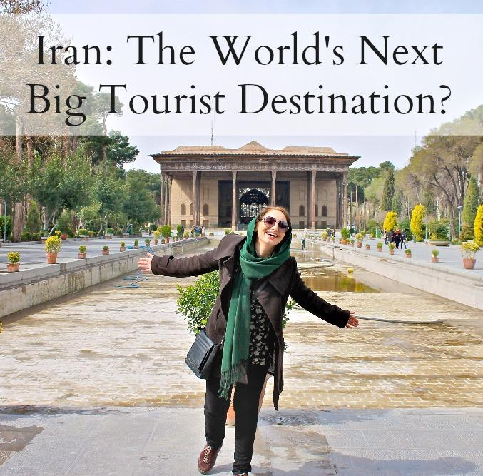 tourists travel Iran