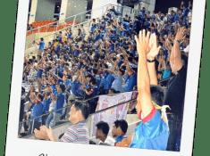 chiang mai fc soccer football game thailand