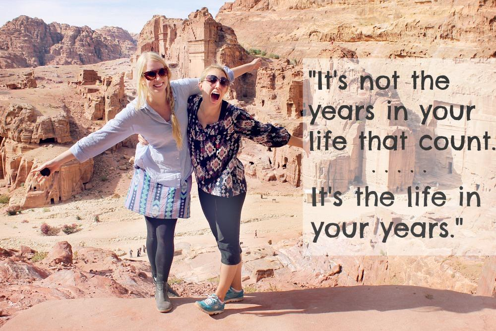 travel quotes life years