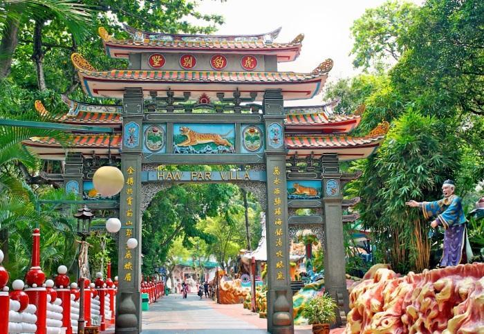 Haw Par Villa Tiger Balm Gardens Singapore