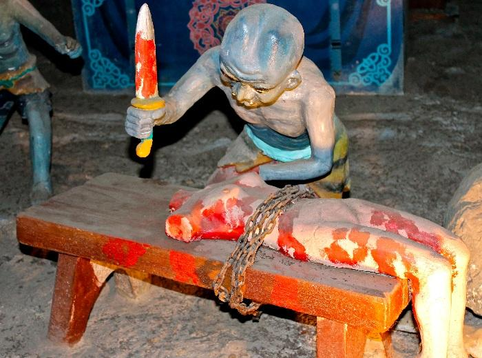Ten Courts of Hell Haw Par Villa Singapore