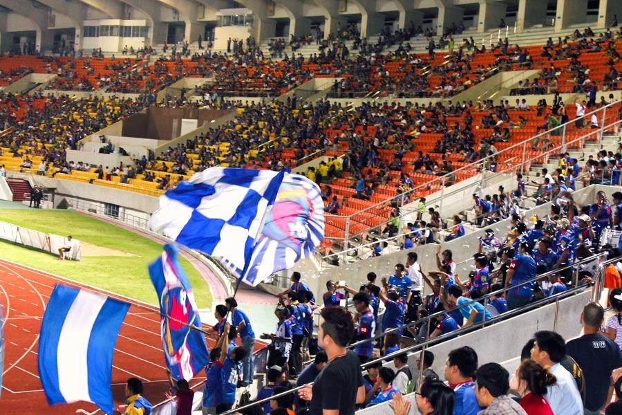 chiang mai fc football soccer game