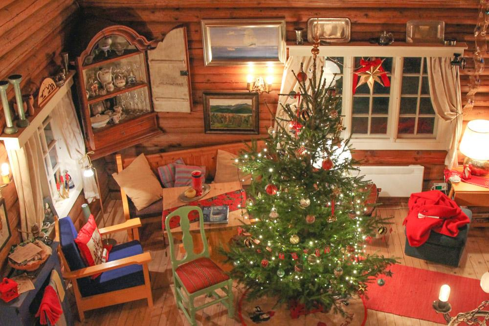 Christmas Norway cabin