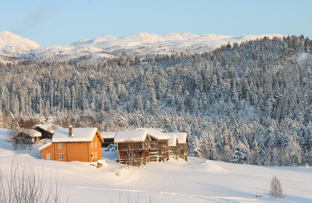 Celebrating Christmas in Norway in Rauland Telemark