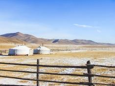 Terelj Ger Mongolia holidays winter