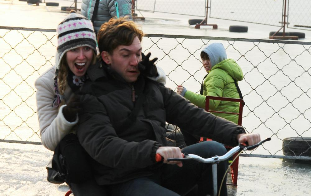 ice cycling in Beijing