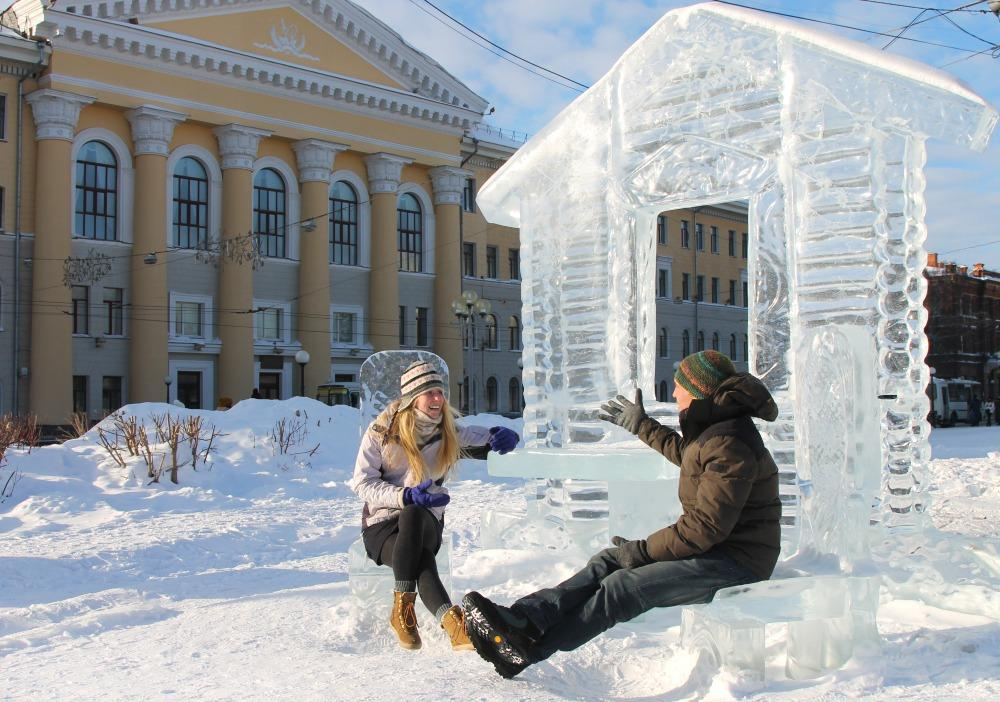 Tomsk Ice Sculptures Russia