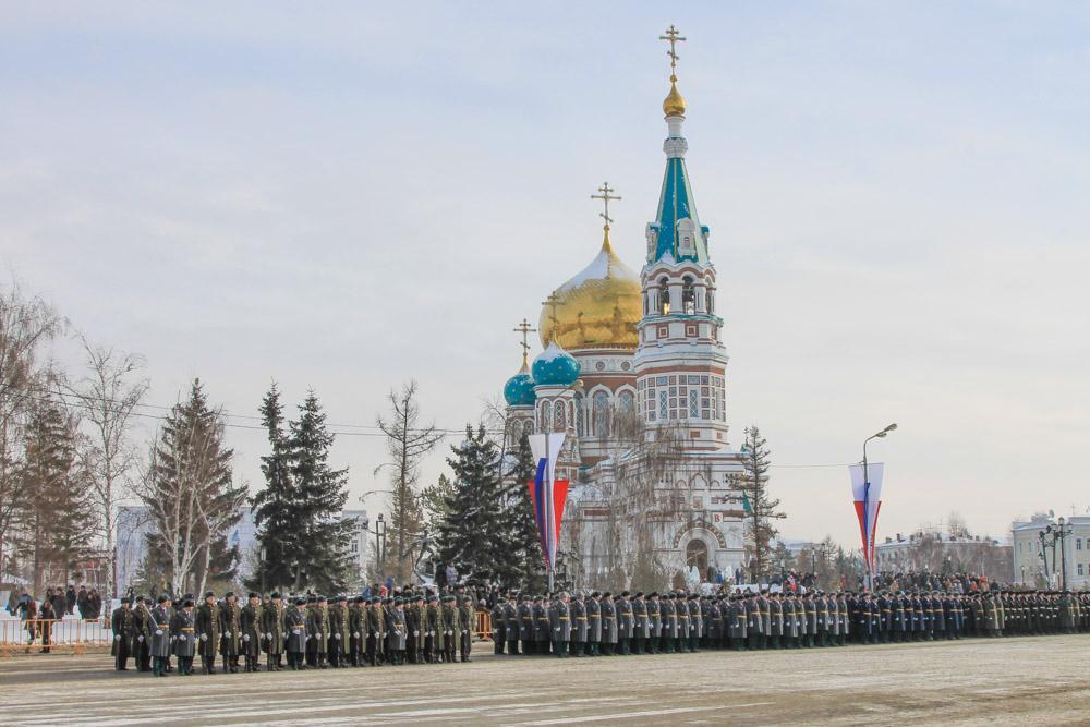 Men's Day in Omsk