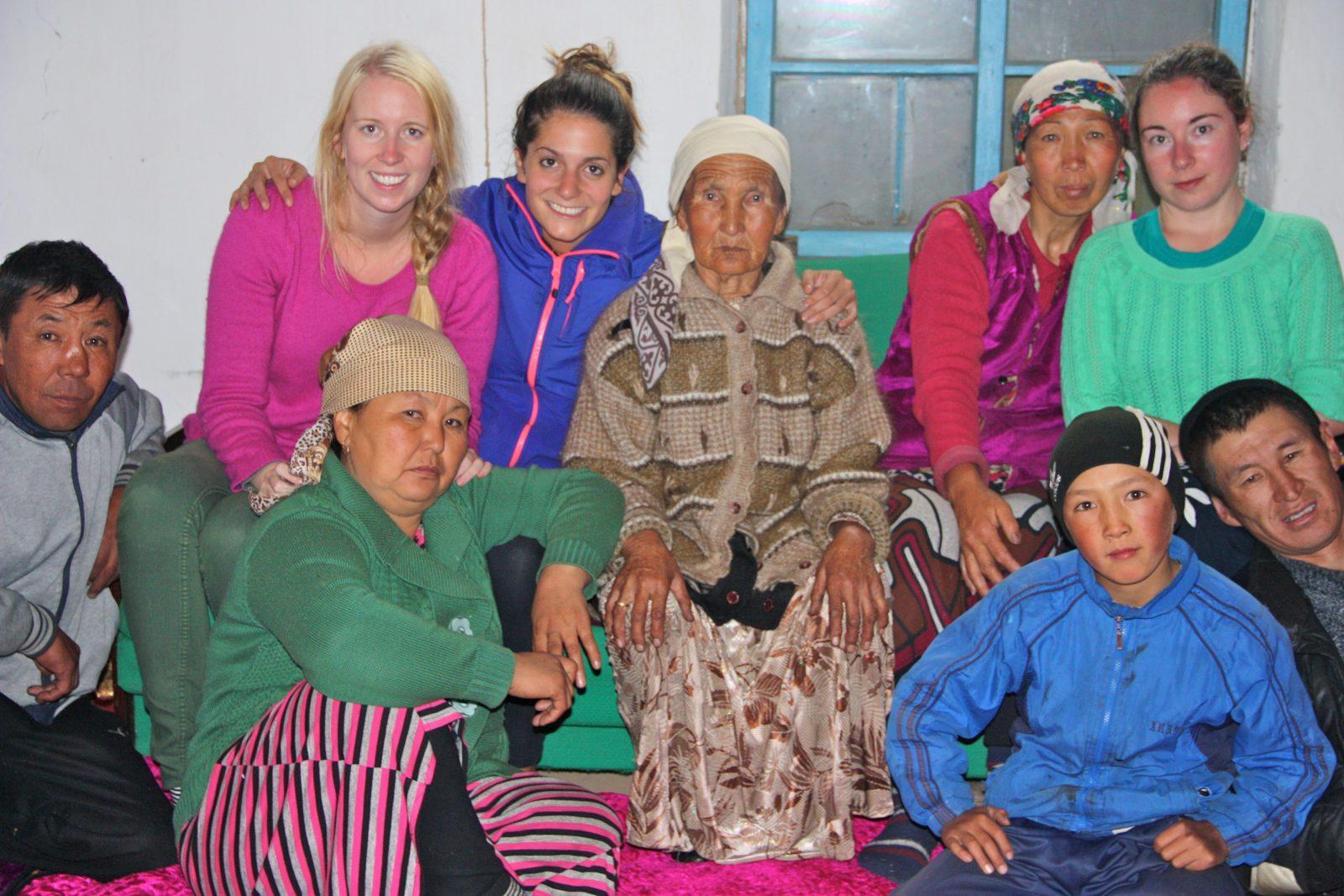 home stay Sary-Tash Kyrgyzstan